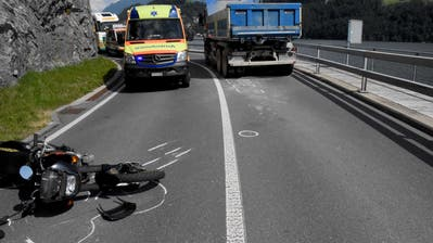 Ein Bild der Unfallstelle. (Bild: Kantonspolizei Nidwalden)