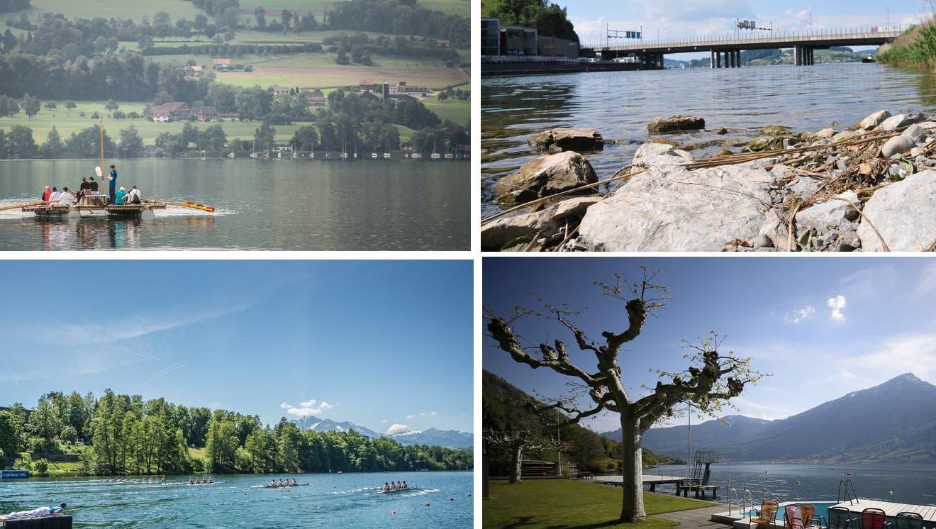LZ-Quiz #19: Wie gut kennen Sie die Seen der Zentralschweiz?