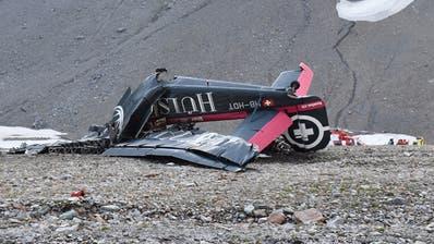 Untersucht wurde auch der Absturz einer Ju-52 oberhalb Flims. (Kantonspolizei Graubünden)