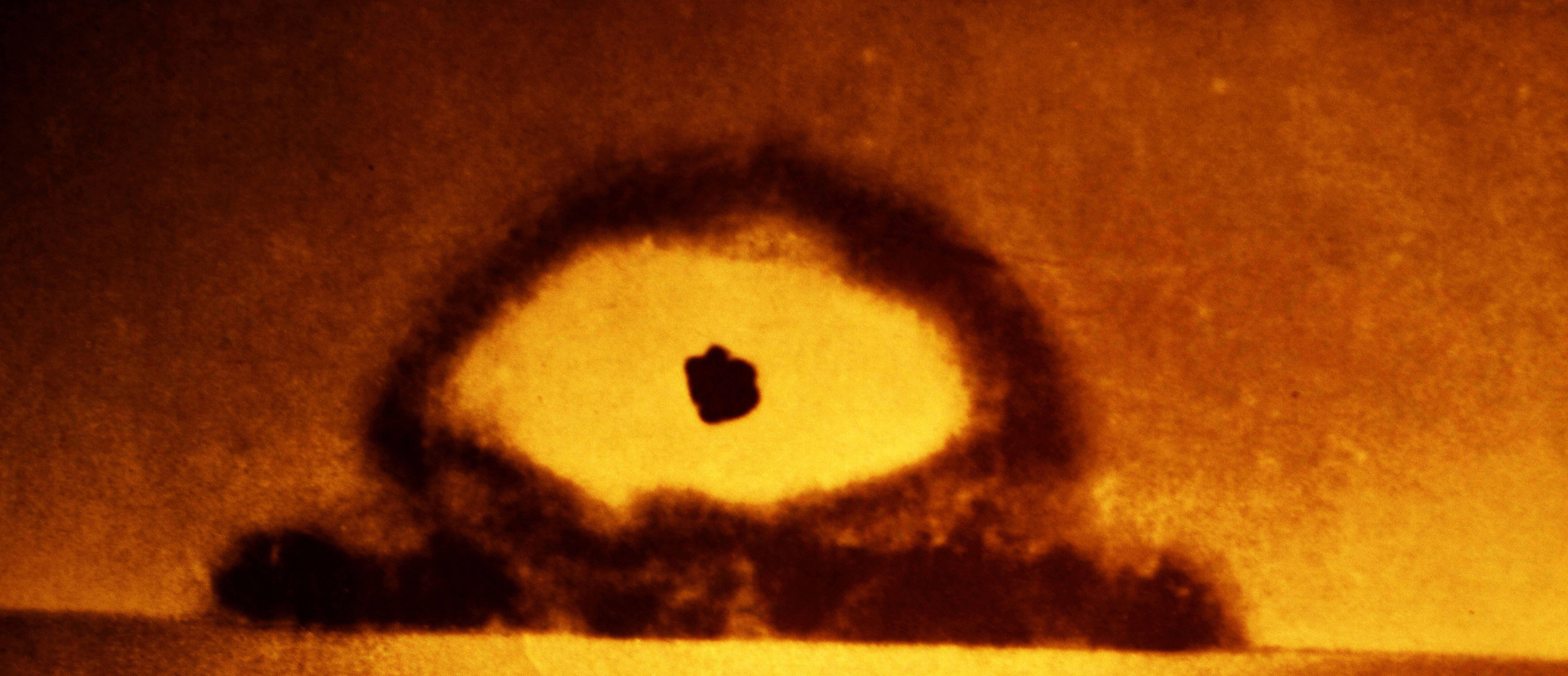 Trinity war eine Plutonium-Bombe.