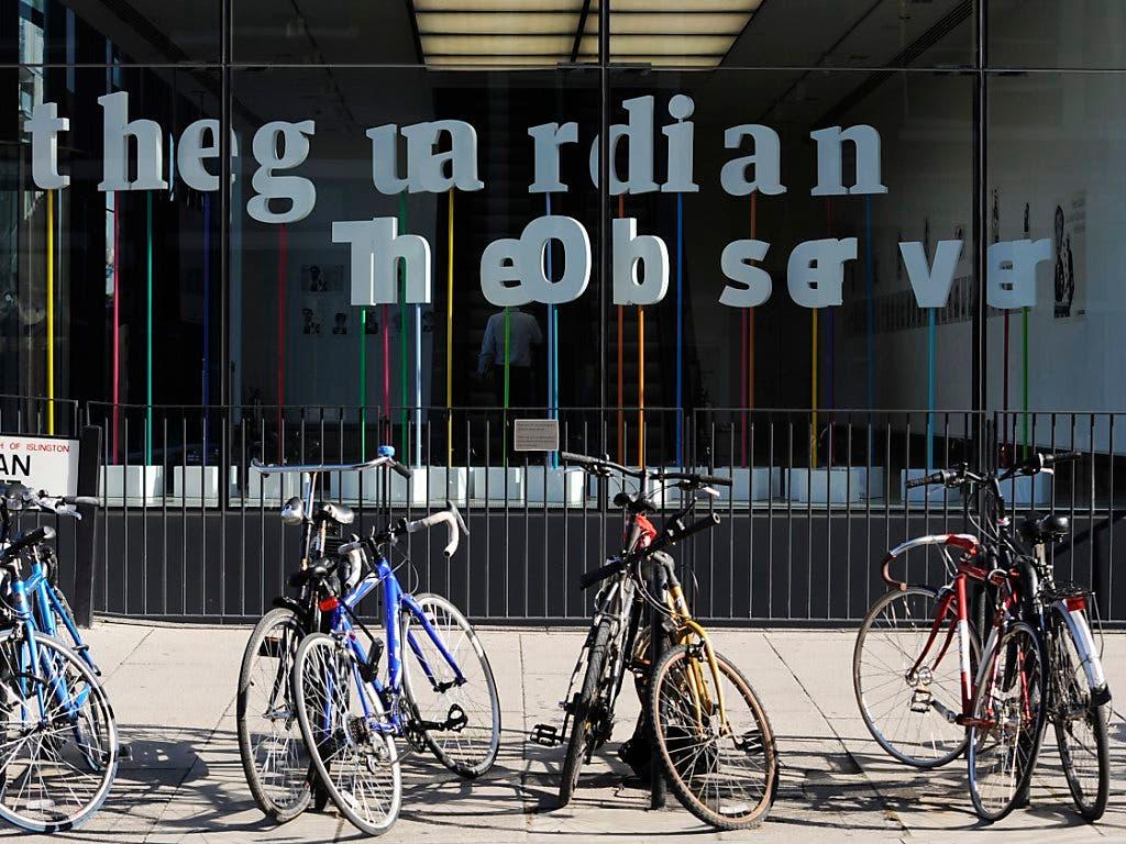 Bei der britischen Tageszeitung «The Guardian» kommt es zu einem massiven Stellenabbau.