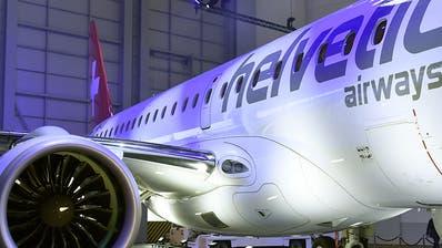 Helvetic kauft grössere Flugzeuge als geplant