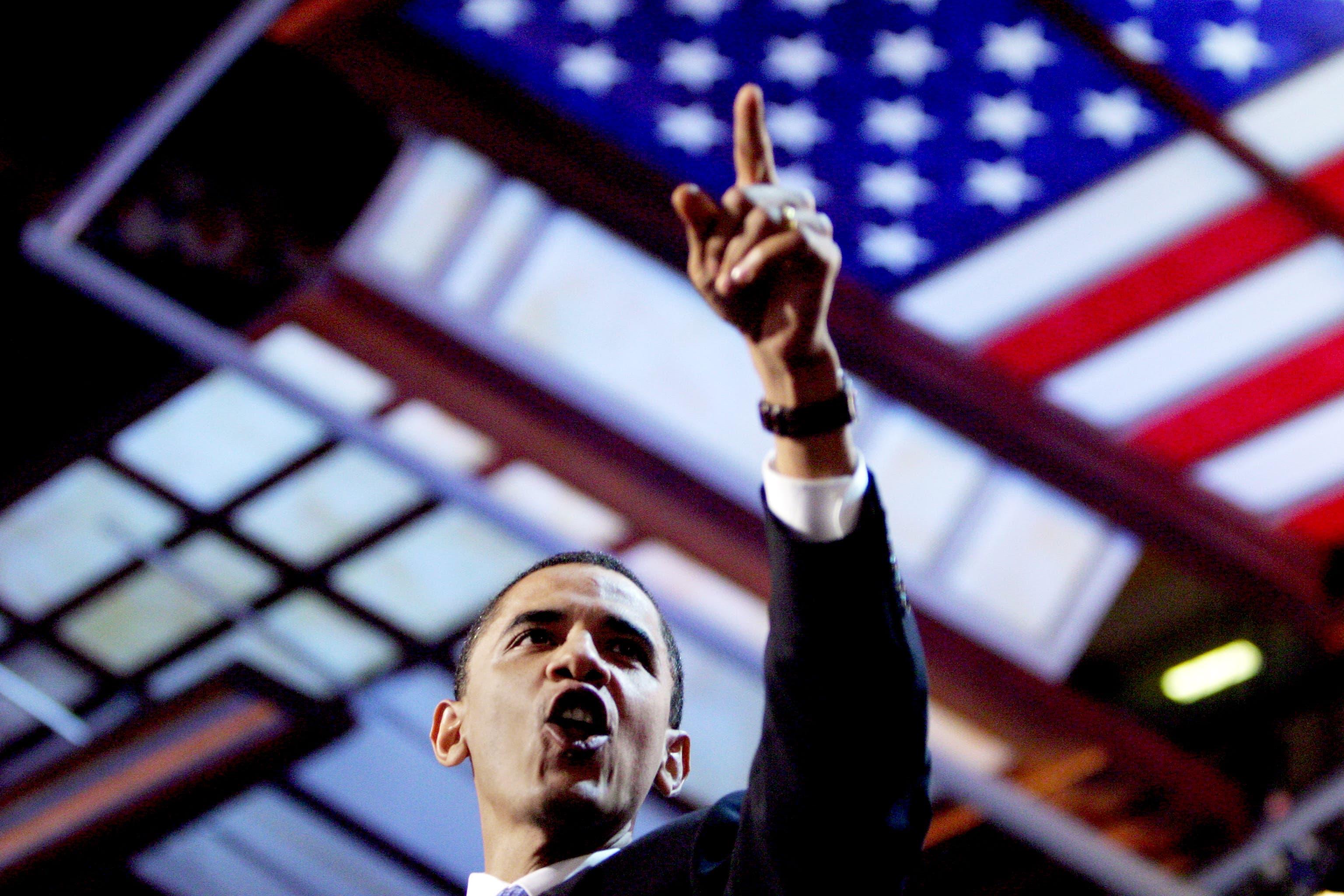 Barack Obama, 2004 Boston Die amerikanischen Parteitage sind immer auch eine Gelegenheit, neuen, noch unbekannten Polit-Talenten eine Bühne zu geben. Kaum einer hat diese Bühne je so geschickt zu nutzen gewusst wie der damalige Senatskandidat Barack Obama. Der damals 43-jährige Regionalpolitiker mit dem «lustigen Namen» (wie er selber sagte) begeisterte die Masse mit seiner Ansprache. «Es gibt keine roten Staaten und keine blauten Staaten, es gibt nur die Vereinigten Staaten», sagte Obama. Vier Jahre später schaffte er den Sprung ins Weisse Haus.