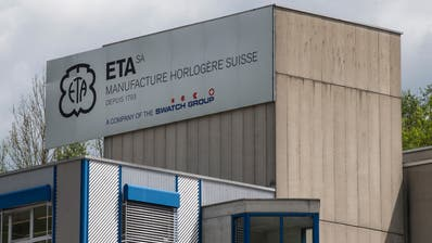 Der Streit um die dominante Stellung der ETA in der Produktion und im Verkauf mechanischer Uhrwerke schwelt seit Jahren. (Keystone)