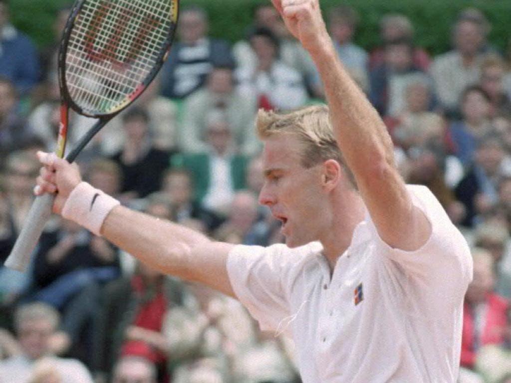 Im Sommer 1995 fand Jakob Hlasek am Swiss Open Gstaad nach einer Krise zum Siegen zurück