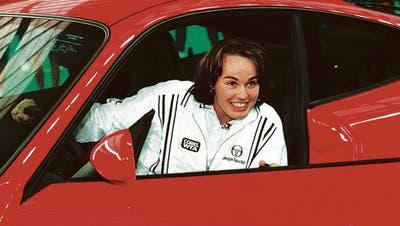 1997 gewann Martina Hingis beim WTA Stuttgart einen Porsche 911. (Bild: Keystone)