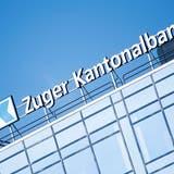 Das Logo der Zuger Kantonalbank am Sonntag 25. Maerz 2018 in Zug. (KEYSTONE/Urs Flueeler) (Urs Flueeler / KEYSTONE)