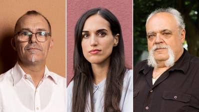 Stéphane Lhuissier, Lea Dudzik und Daniel Bühlmann (v.l.) durchleben aktuell schwierige Zeiten – die Schuld trägt die Corona-Pandemie. (Severin Bigler (2) / Britta Gut)