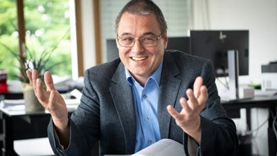 Dürfte sich freuen: Der Gossauer Stadtpräsident Wolfang Giellatritt ohne Konkurrenz zu den Gesamterneuerungswahlen im Herbst an. (Ralph Ribi (6. Juni 2019))