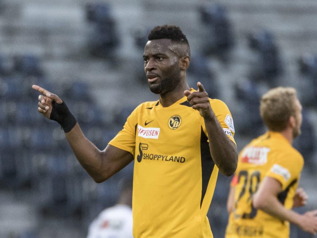 Jean-Pierre Nsame, der überragende Goalgetter der Super League, müsste auch in fremden Stadien ein Trumpf der Berner sein.