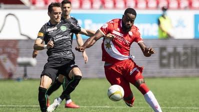 Der FC St.Gallen verliert im Berner Oberland