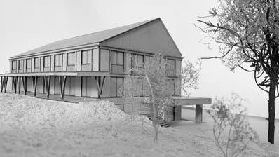 Hier kann man von zwei Seiten rein: Das ist das Siegerprojekt für Warth-Weiningens neuesInfrastrukturgebäude
