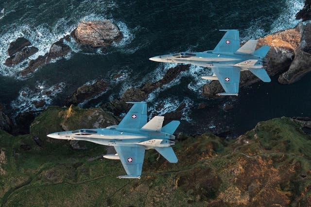 «Es geht um unser Überleben»: Vom Luftkampf im hohen Norden und wie die Schweizer Armee am Himmel über Schottland trainiert