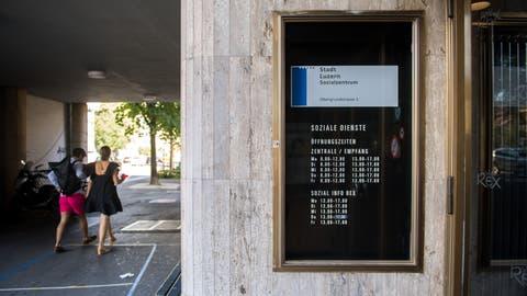 Die sozialen Dienste der Stadt Luzern haben wegen der Coronakrise bereits jetzt mehr zu tun. (Eveline Beerkircher (20. Juli 2020))