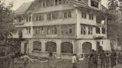 Damals: Der Abbruch des alten «Sternen» in Nesslau und weitere bemerkenswerte Ereignisse aus der Toggenburger Geschichte