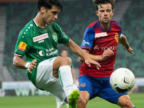 Brutale 0:5-Heimniederlage des FC St.Gallen gegen den FC Basel