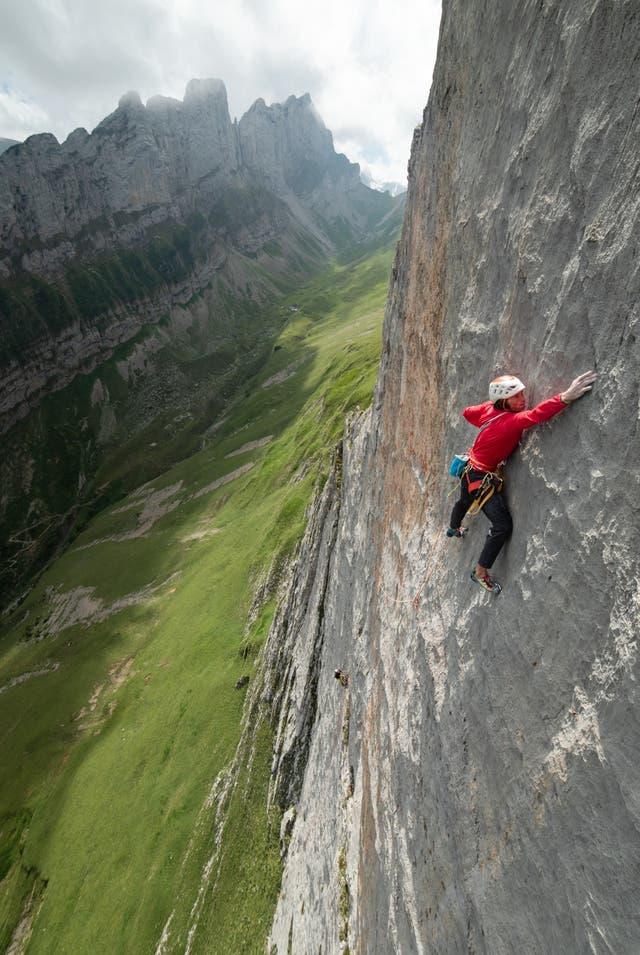 «Ich werde es wieder und wieder versuchen»: Wie ein Deutscher an der Dreifaltigkeit die schwierigste Kletterroute im Alpstein schaffen will