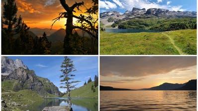 Schnappschüsse aus Ob- und Nidwalden gesucht: Senden Sie uns Ihre schönsten Sommerbilder