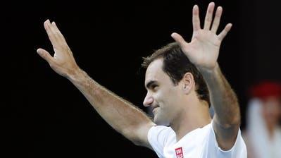 Roger Federer will bei den Australian Open wieder angreifen. (Bild: Francis Malasig / EPA (Melbourne, 28. Januar 2020))