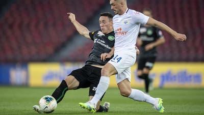 Der FC St.Gallen besiegt den FC Zürich mit 3:1