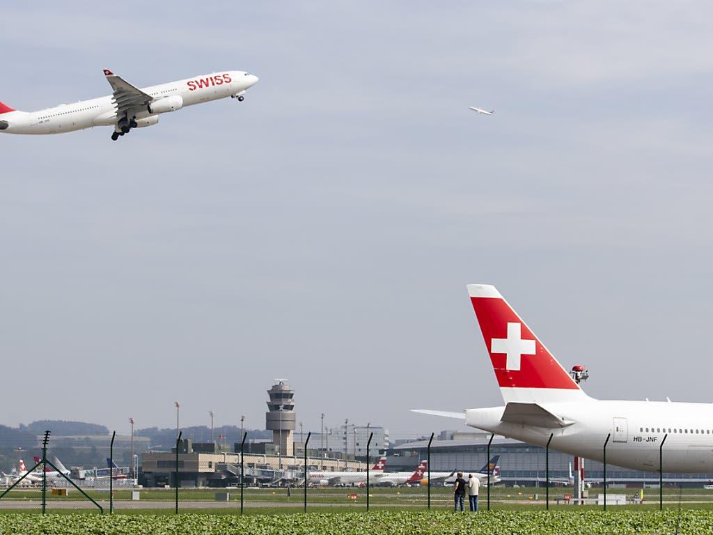 Weniger als ein Drittel der Flugbewegungen verzeichnete der Flughafen Zürich im Juli 2020 im Vergleich zur gleichen Vorjahresperiode.