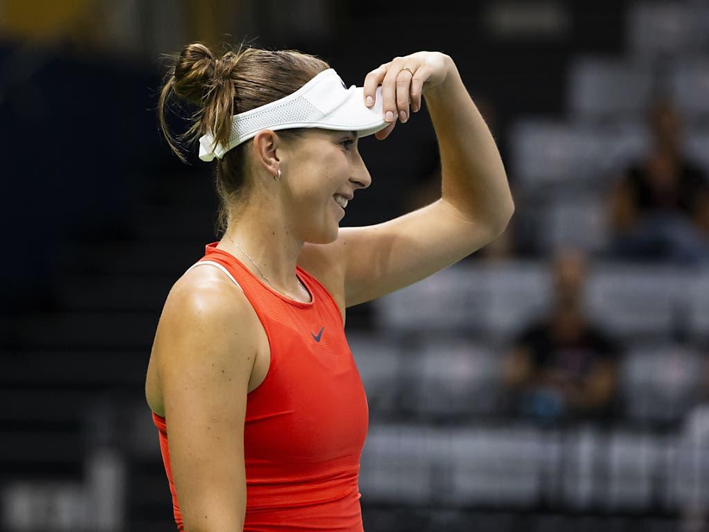 Viel Spass und starkes Tennis: Die Weltnummer 8 Belinda Bencic erfüllte in Biel alle Erwartungen