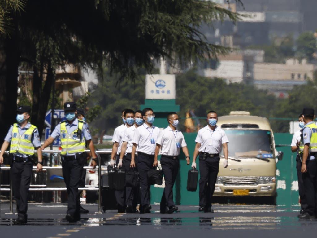 China hat am Montag das Gelände des US-Generalkonsulats in Chengdu nach der Räumungsaufforderung übernommen.