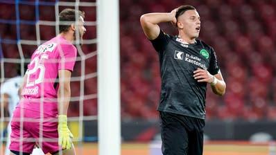 Traf vor und nach der Coronapause: FCSG-Stürmer Ermedin Demirovic. (Claudio Thoma / freshfocus)
