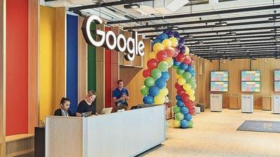 Die Büroräume von Google bleiben wohl noch länger leer. (Bild: Google)