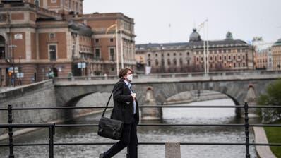 Schweden verzichtete anders als viele europäische Länder auf einen umfassenden Lockdown. (Bild: Keystone (Stockholm, 27. Juli 2020))