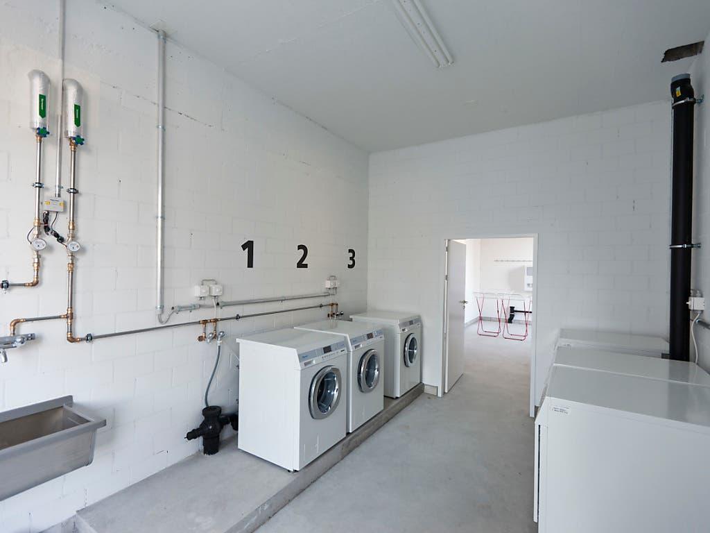 Das ewige Ärgernis Gemeinschaftswaschküche: Ein Exemplar in der Überbauung einer Genossenschaft in Zürich 2012.