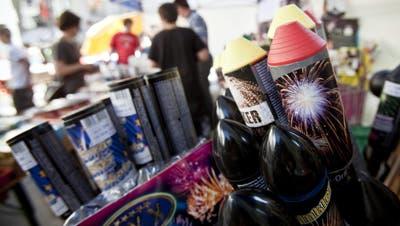 Der Feuerwerkverkauf boomt im Coronasommer 2020. (Ennio Leanza / KEYSTONE)