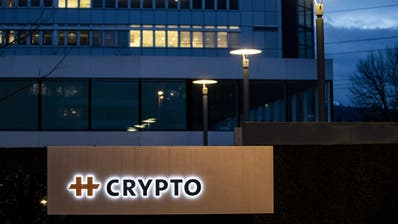 Der Hauptsitz des Chiffriergeräte-Herstellers Crypto in Steinhausen. (Alexandra Wey / KEYSTONE)