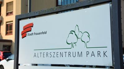 Eingangsbereich des städtischen Alterszentrums Park. ((Bild: Mathias Frei)