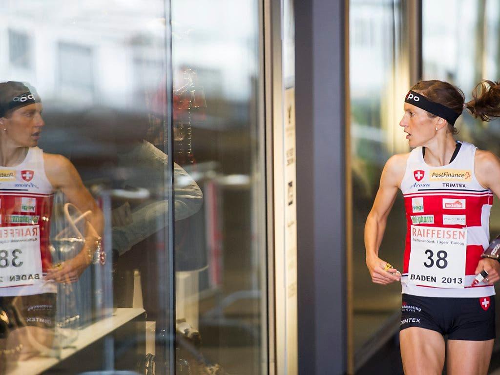 Schaut auf ihrer Karriere zurück: Simone Niggli-Luder im Jahr 2013 bei ihrem letzten Weltcup-Einsatz.