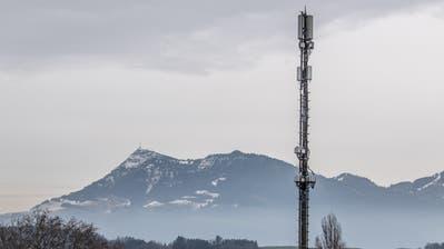 G5 Antenne auf dem Dach der Uni LuzernFotografiert am 27. Januar 2020 in LuzernNadia Schärli Luzernerzeitung (Nadia Schärli / Luzerner Zeitung)