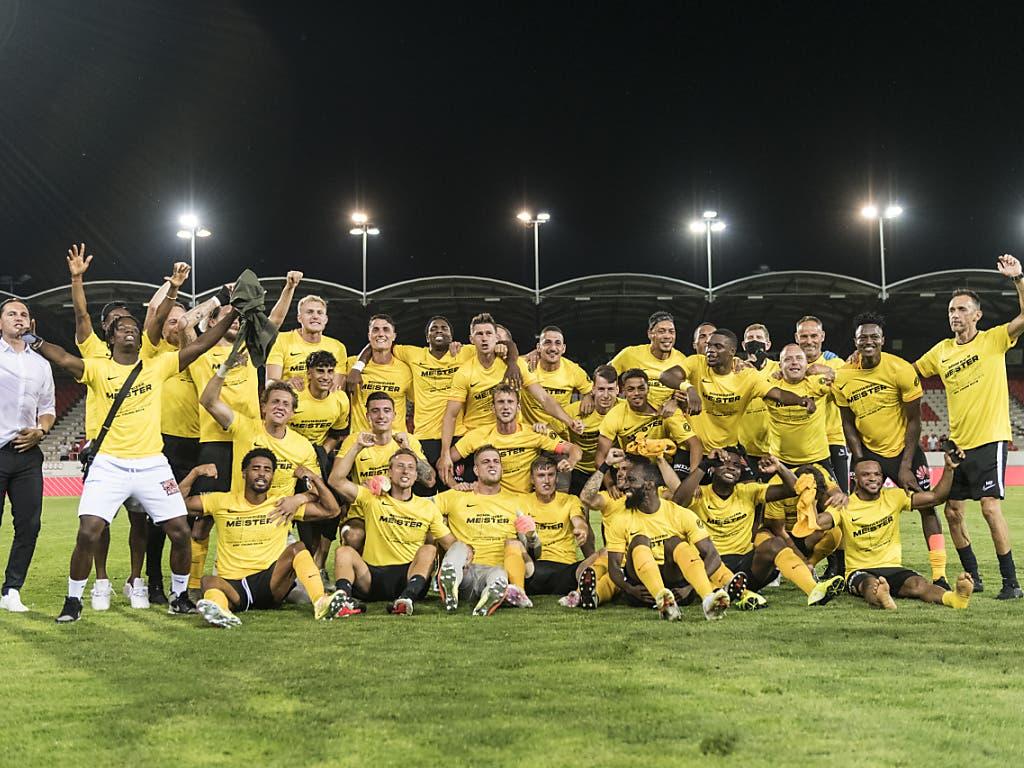 Das ist die Meistermannschaft 2019/20: YB