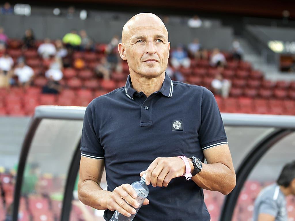 Am Freitagabend wird er auch ein Sion-Fan sein: St. Gallens Trainer Peter Zeidler