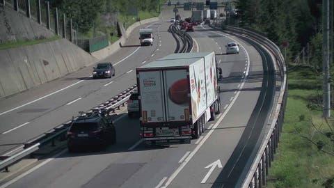 Sperrung Autobahn