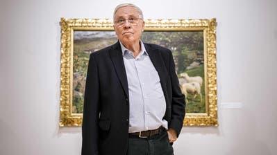 Unternehmer, SVP-Doyen und Alt-Bundesrat: Christoph Blochers Familie gehört gemäss «Bilanz» zu den zehn reichsten der Schweiz. (Bild: Valentin Flaurud / Keystone)