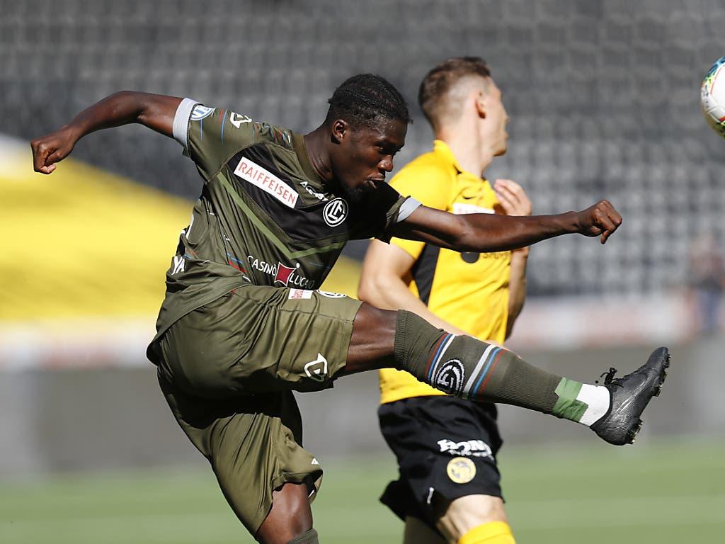 Pechvogel des Spiels in Bern: Luganos Verteidiger Yao unterliefen gegen YB gleich zwei Eigentore