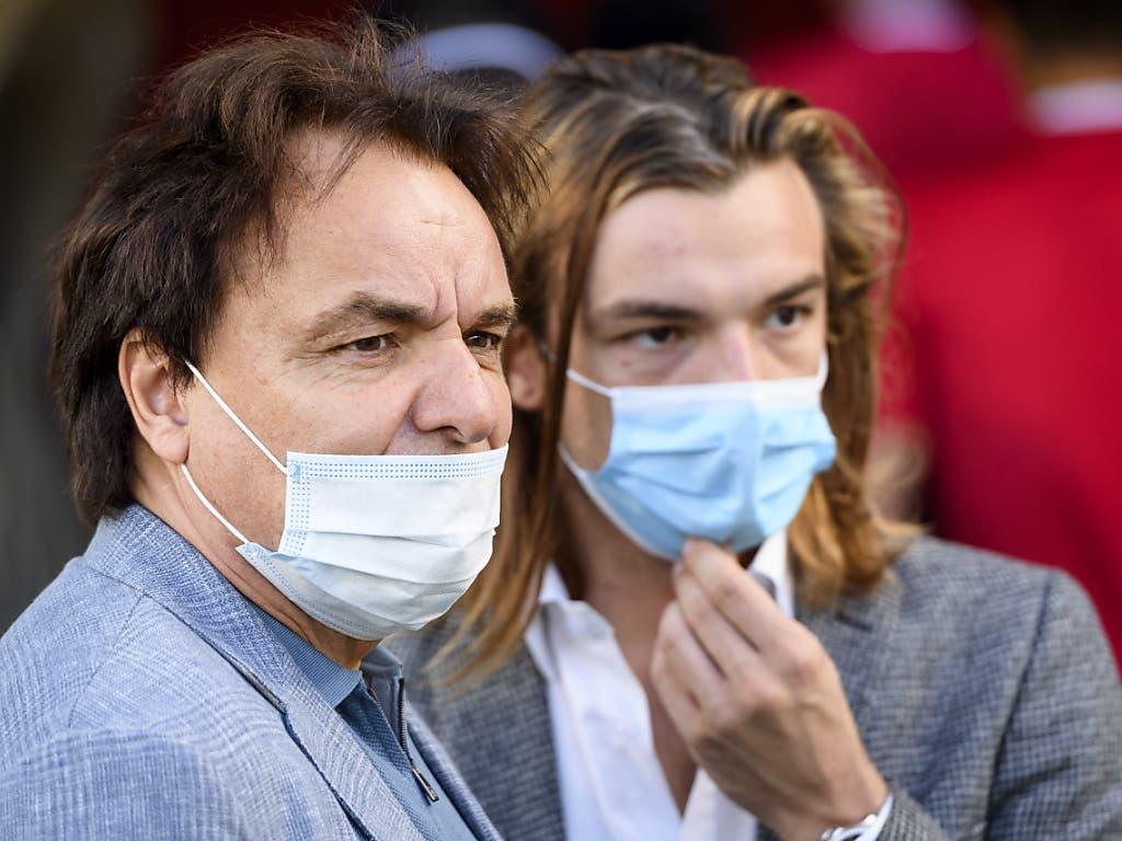 Christian Constantin und Paolo Tramezzani kämpfen Seite an Seite gegen den Abstieg und gegen das Coronavirus