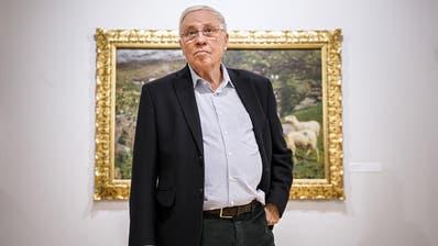 Alt Bundesrat Christoph Blocher möchte seine Rente doch haben:«Wenn ich sehe, wie das rot-grüne Parlament Geld ausgibt, dann darf es keine Geschenke geben an diesen Staat.» (KEY)