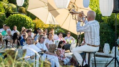 Am Vollmondkonzert zu hören: Dani Felber live und seine Big Band aus der Konserve. (Bild: Reto Martin)