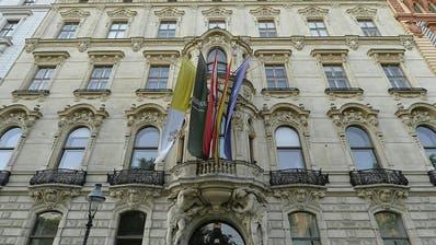 Ein stattliches Haus: Das König-Abdullah-Zentrum in Wien. (Keystone)