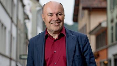 Albert Schwarzenbach, Präsident des Grossen Stadtrat Luzern fotografiert beim Löwengraben.  Bild: Corinne Glanzmann (Luzern, 23. August 2019) (Bild: Eveline Beerkircher (Kriens, 16 Januar 2020))