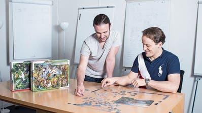 Zwei Steinhauser sammeln Geld per Crowdfunding für die Produktion von Puzzles