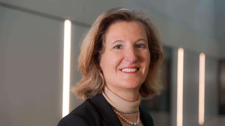 Désirée Baer ist seit März Chefin von SBB Cargo. (Keystone)