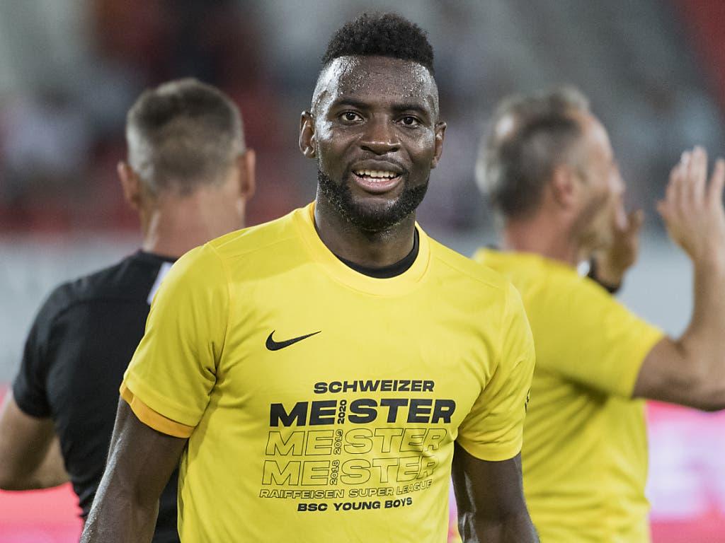 Ihm haben die Young Boys in dieser Saison einiges zu verdanken: Jean-Pierre Nsame Schütze von bisher 30 Tore in der Meisterschaft