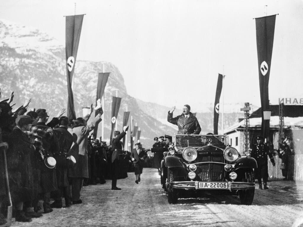 Bereits im Februar 1936 bei den Olympischen Winterspielen in Garmisch-Partenkirchen wurde Adolf Hitler von der Nazi-Propaganda erfolgreich ins Szene gesetzt.